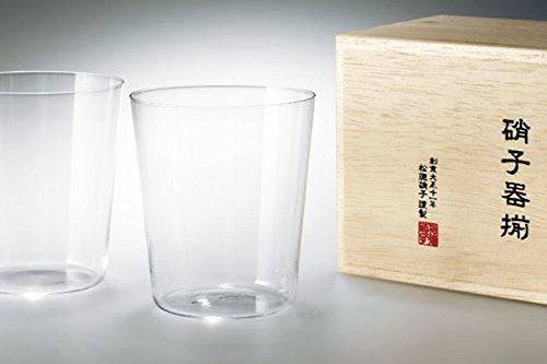 うすはりグラス うすはりオールドL(桐箱入り2個セット)