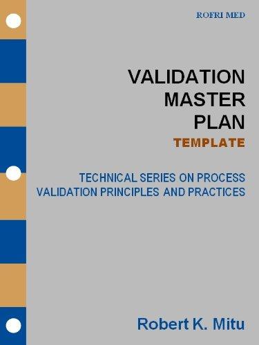 amazon validation master plan template technical series on