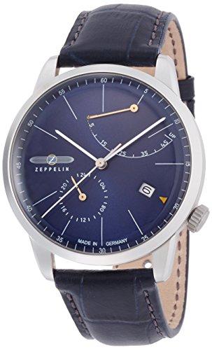 [ツェッペリン]ZEPPELIN 腕時計 フラットライン ネイビー文字盤 自動巻 73663 メンズ 【正規輸入品】