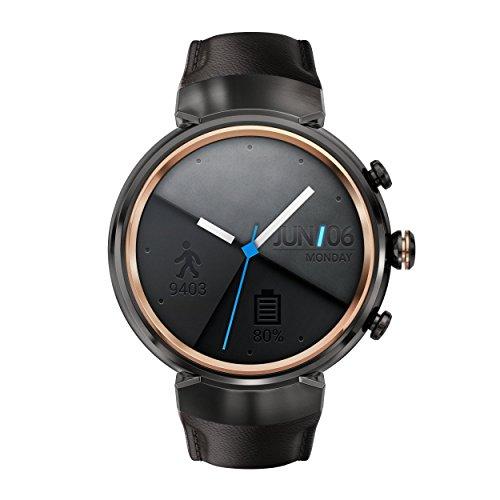 [해외]ASUS 스마트 워치 ASUS ZenWatch 3 건메탈 WI503Q 가죽 밴드 [병행 수입품]/ASUS Smart Watch ASUS ZenWatch 3 Gunmetal WI 503 Q Leather Band [Parallel import goods]
