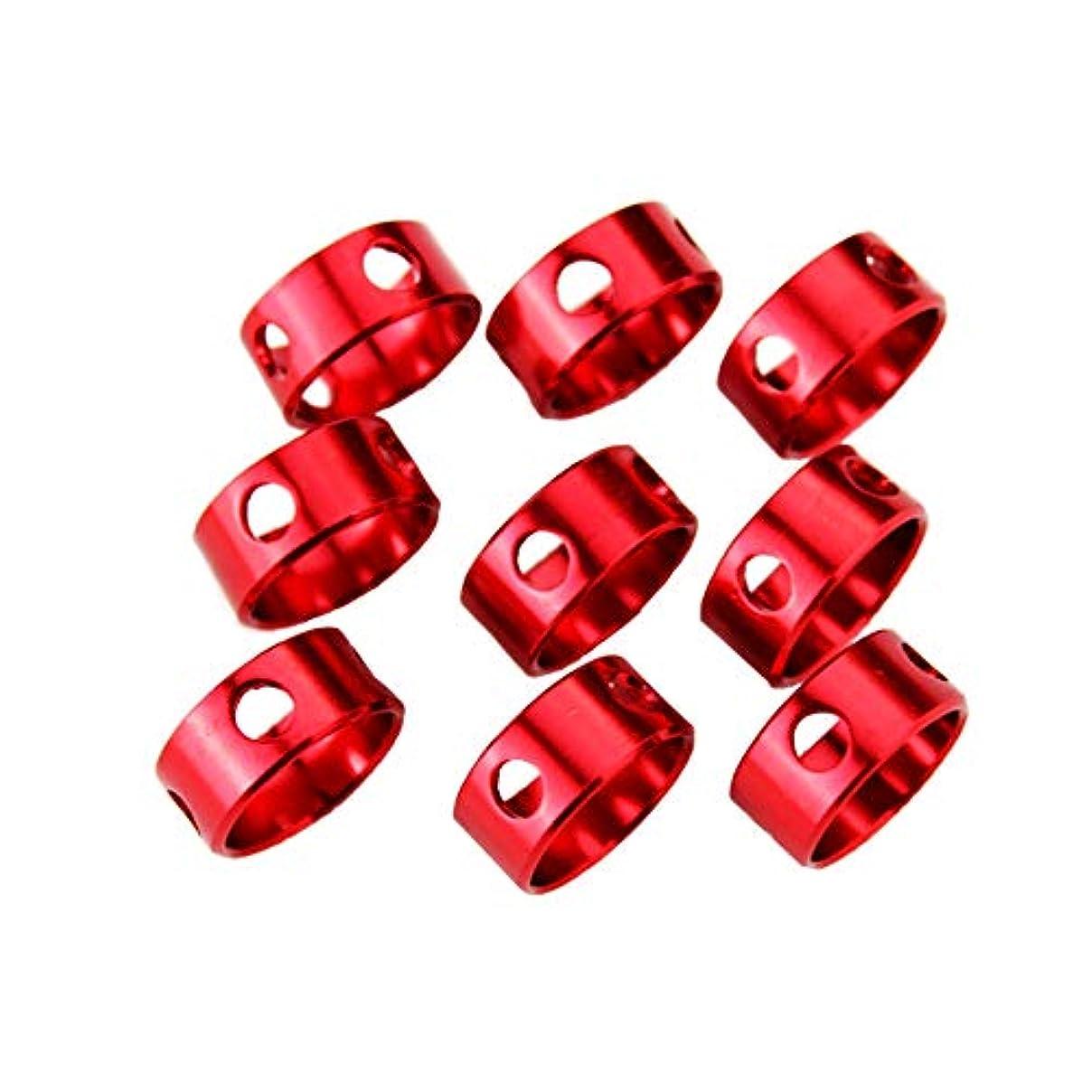 提案する安価な害コードスライダー 丸型 カムリング アルミ自在金具 テントロープ アルミ合金 3つ穴 リング状 アンチ スリップ ファスナー OSOGODE(オソグド)