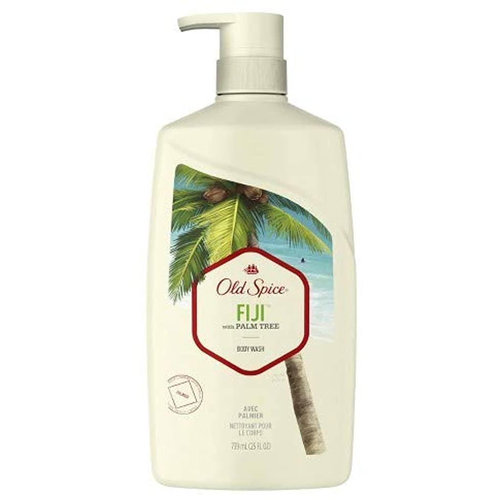 請求書風が強いひいきにするオールドスパイス フィジー ボディーソープ 739ml OldSpice Fiji Bodywash 25oz