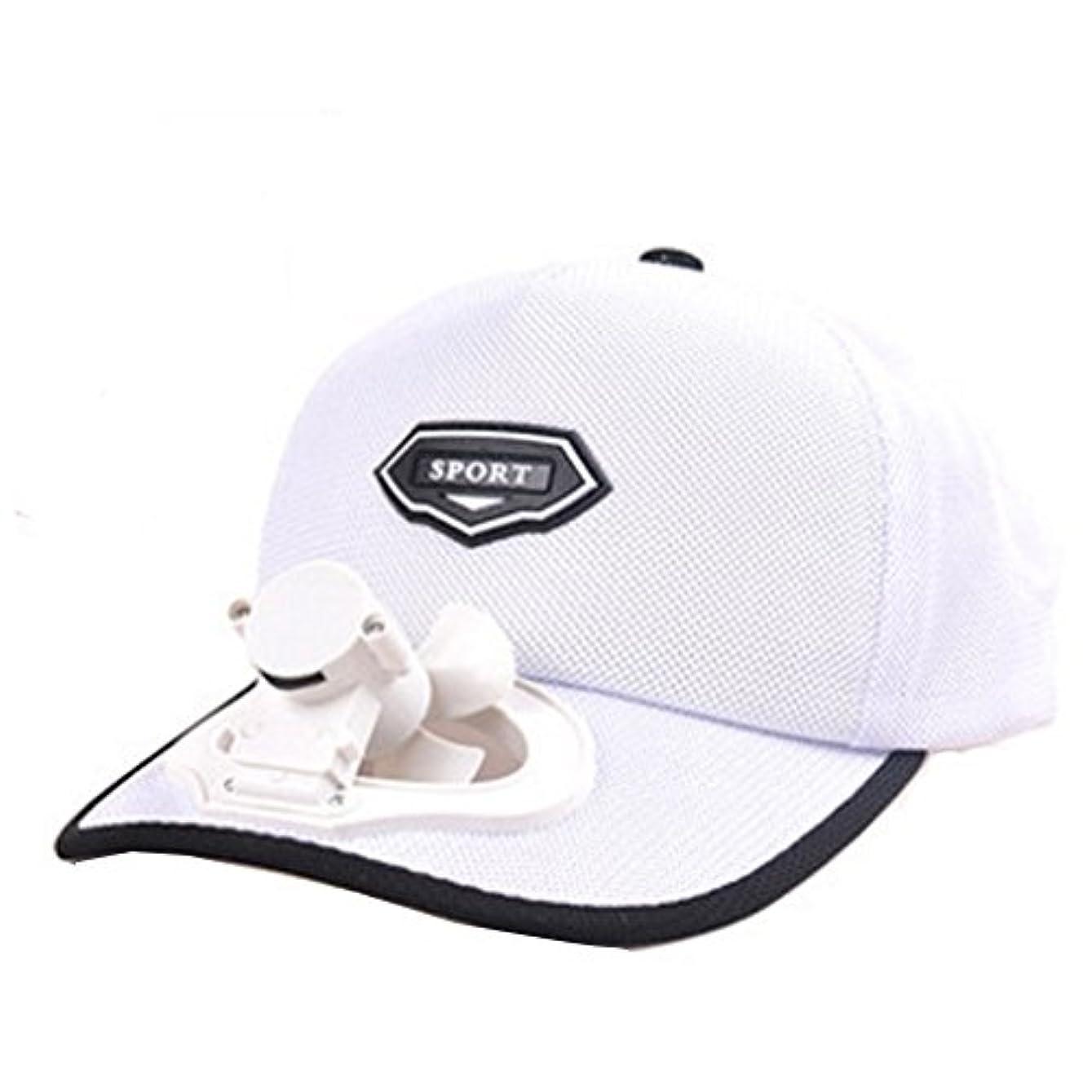 パンダ猛烈なバラエティ夏のファン帽子ファン釣りサンバイザーキャップ#C