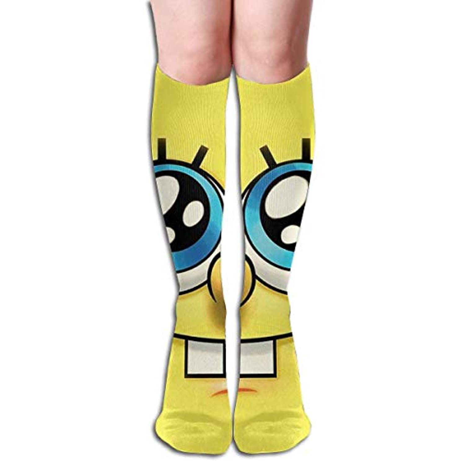 主流メンタル必要としているqrriyスポンジボブチューブストッキングレディース冬暖かい膝ハイソックスブーツ靴下