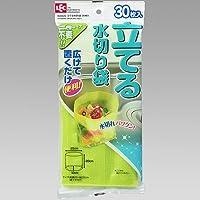 レック 立てる水切り袋 グリーン 30枚入 K00020 (水切りゴミ袋)【2個セット】 4903320041721