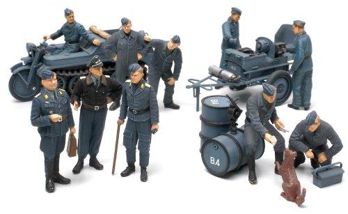 1/48 スケール限定商品 ドイツ航空機用電源車・空軍クルーセット