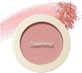 【The Saem】ザセム セムルル シングル ブラッシャー/Saemmul Single Blusher 5g (CR01 ネイキッド ピーチ)