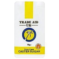 [Tate & Lyle ] 貿易援助キャスター砂糖1キロ - Trade Aid Caster Sugar 1kg [並行輸入品]