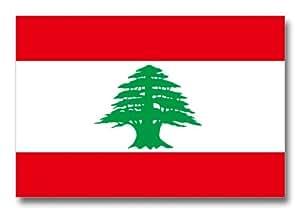 世界の国旗ポストカードシリーズ <中東> レバノン共和国 Flags of the world POST CARD <Mideast> Republic of Lebanon