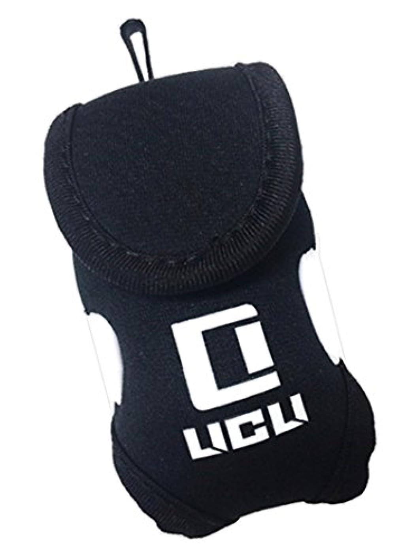 とらえどころのない歩き回る暖炉LICLI ゴルフボールケース 「全3色」「軽量防水」「ボール2個ティー4本付き 収納可」「バッグにも取付できるフック付き」「プレイの邪魔にならないコンパクト設計」
