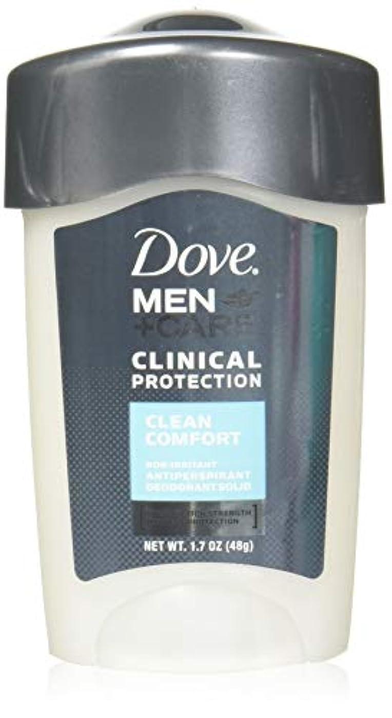 くつろぎ謝罪するいうDove Men + Care Clinical Protection Anti-perspirant Deodorant Solid Clean Comfort 50 ml (並行輸入品)