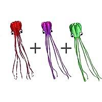 3d Huge Octopus Kiteソフトウェア、nasion。Vスポーツ/ビーチGiant凧with Carryバッグとライン、Go Fly A Kite for大人用、子供用