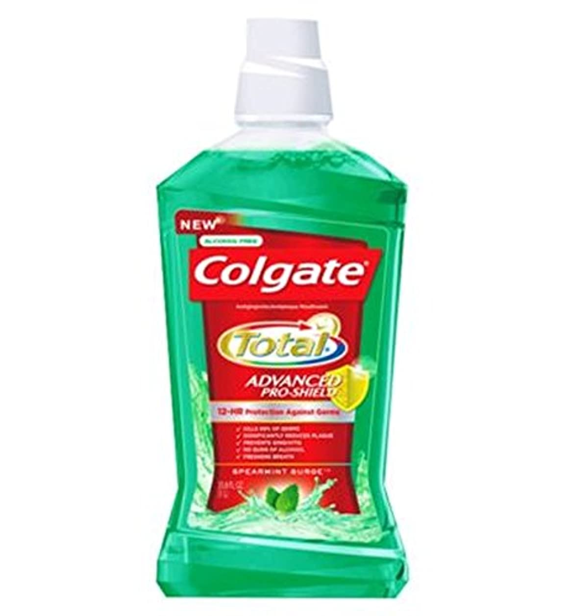 がっかりした不正確聖歌コルゲートの口内洗浄剤の合計緑500ミリリットル (Colgate) (x2) - Colgate Mouthrinse Total Green 500ml (Pack of 2) [並行輸入品]
