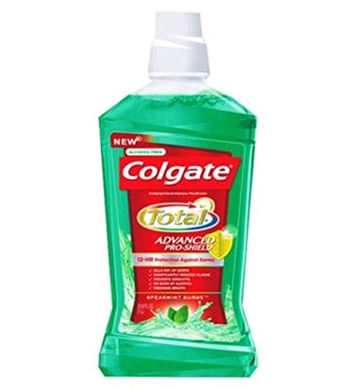 タイヤクリケットラフ睡眠Colgate Mouthrinse Total Green 500ml - コルゲートの口内洗浄剤の合計緑500ミリリットル (Colgate) [並行輸入品]