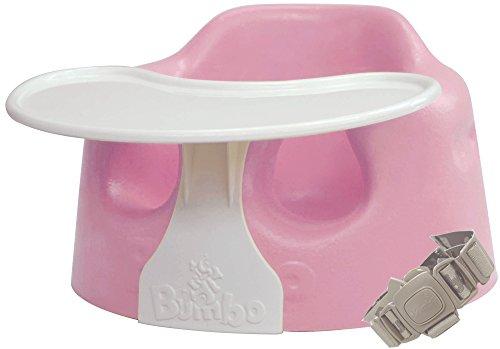 Bumbo バンボ コンボ プレートレイ付き ベビーソファ 【正規総輸入元】 後から付けられる専用腰ベルト入り ピンク