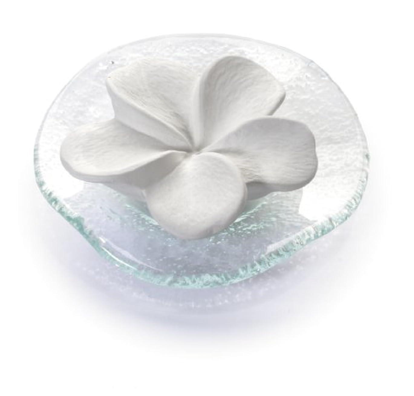 版指クリアポマンダー フランジュパニ(ガラズ皿つき)プリマヴェーラ(プリマベラ)「天の香り」
