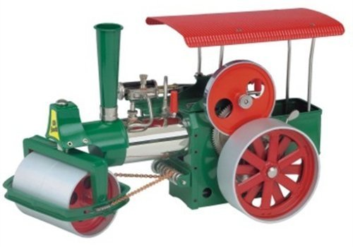 ヴィレスコ Wilesco 蒸気エンジン式ロードローラー模型 D365