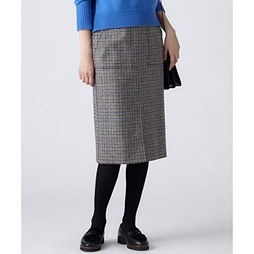 23区(NIJYUSANKU) MOON SHETLAND TWEED タイトスカート