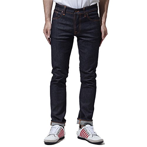 (ヌーディージーンズ) nudie jeans co ボタンフライ ジーンズ 30サイズ GRIM TIM SLIM REGULAR FIT グリムティム スリムレギュラー フィット レングス32 [並行輸入品]