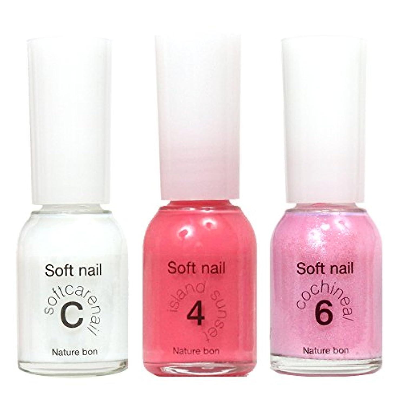 ちっちゃいどきどきキャンディー胡粉ネイル C-ケアートップコート,4-珊瑚(アイランドサンセット),6-コチニール(キラキラ薄ピンク) 合計3本セット ワンデイネイルc46