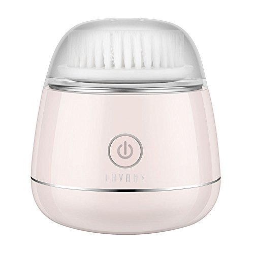 Lavany 洗顔ブラシ 電動 洗顔器 洗顔用フェイスブラシ 音波振動 毛穴ケア 二段階速度 IPX7防水 USB充電 SR-03L
