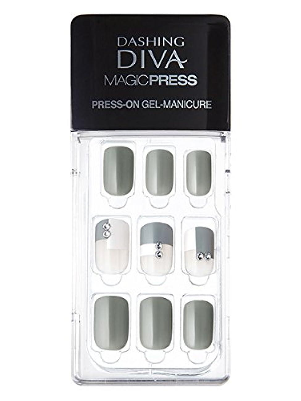 ファンシー洗う引用MDR071:ネイルチップ【ダッシングディバマジックプレス】DASHING DIVA MAGICPRESS PRESS-ON GEL-MANICURE 1BOX(30TIPS)-DURY+