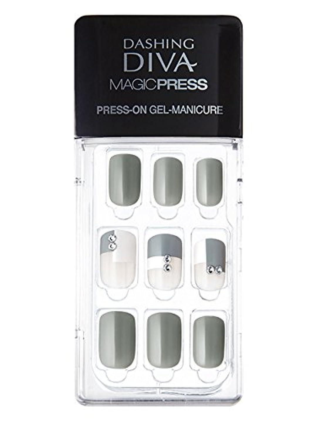 健康執着ラボMDR071:ネイルチップ【ダッシングディバマジックプレス】DASHING DIVA MAGICPRESS PRESS-ON GEL-MANICURE 1BOX(30TIPS)-DURY+
