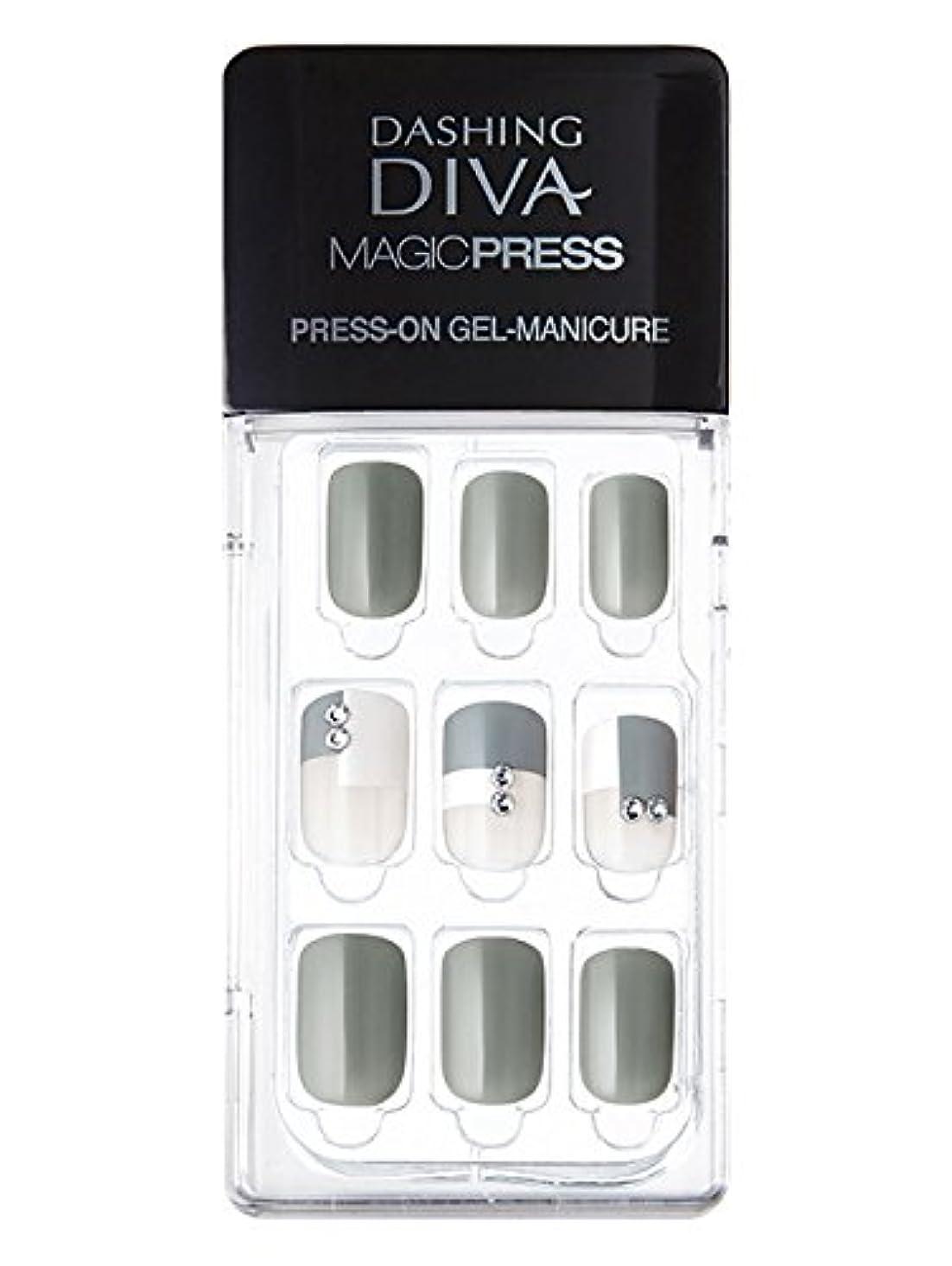 MDR071:ネイルチップ【ダッシングディバマジックプレス】DASHING DIVA MAGICPRESS PRESS-ON GEL-MANICURE 1BOX(30TIPS)-DURY+