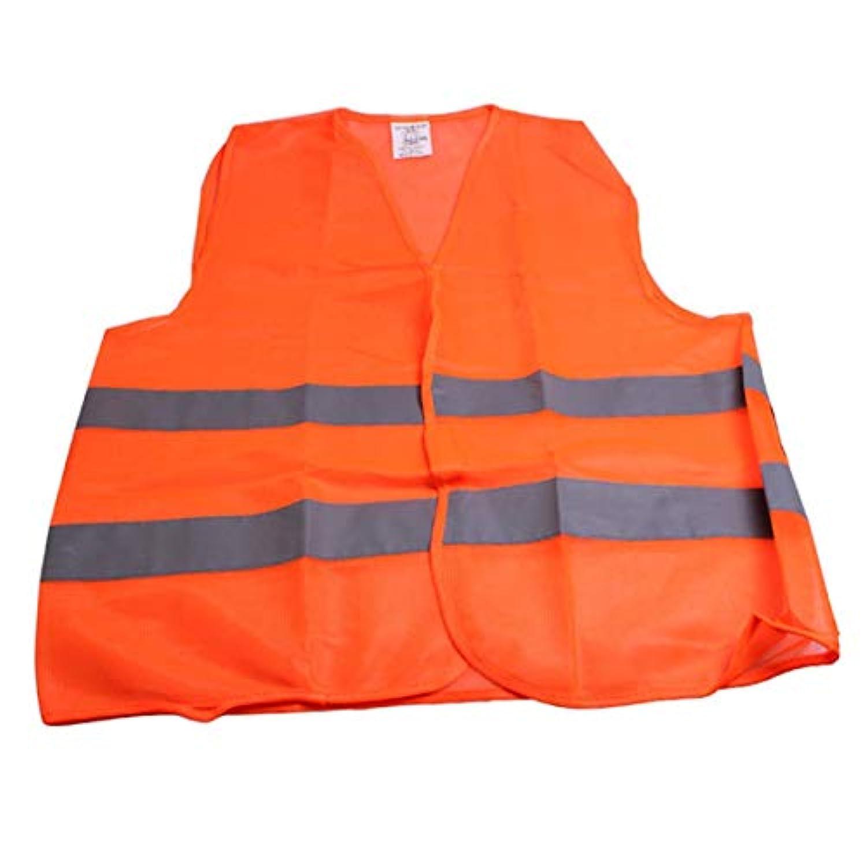 Saikogoods 反射警告ベスト交通警告ベスト作業服高視認性保護ベスト用衛生労働者アシスタント警察