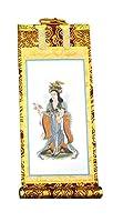 ◆掛け軸◆ 手書き風掛軸 『バラ売り』 日蓮宗 100代(高さ45cm) 脇掛右 鬼子母神