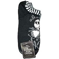 Disney Nightmare Before Christmas Jack Skellington 6 Pairs No Show Socks