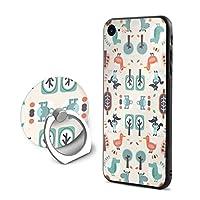 すばらしいiPhone 7/8 ケース リング付き 人気 スタンド機能 ソフト 薄い 携帯カバー アイフォン 7/8 ケース