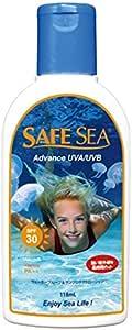 SAFE SEA(セーフシー) サンプロテクト日焼け止め & クラゲ除け ローションADVANCE UVA/UVB SPF30