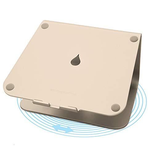 Rain Design mStand 360 (アルミニウム製 回転型 ノートPCスタンド) ゴールド 【日本正規代理店品】RND-ST-000006
