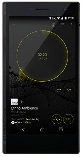 ONKYO デジタルオーディオプレイヤー GRANBEAT SIMフリースマートフォン機能付き ハイレゾ対応 DP-CMX1(B) -