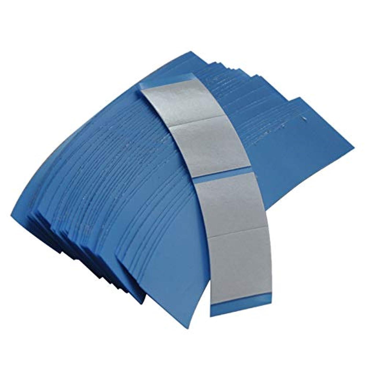 いらいらする辞任スパイラルSODIAL 36個/ロット ブルー スーパー固定テープヘアシステム両面粘着テープ テープエクステンション/ウィッグ/レースウィッグ用