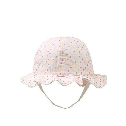e5494464dbd47 XIAOHAWANGベビー 帽子 日よけ帽子 つば広 かわいい 赤ちゃん バケット ...