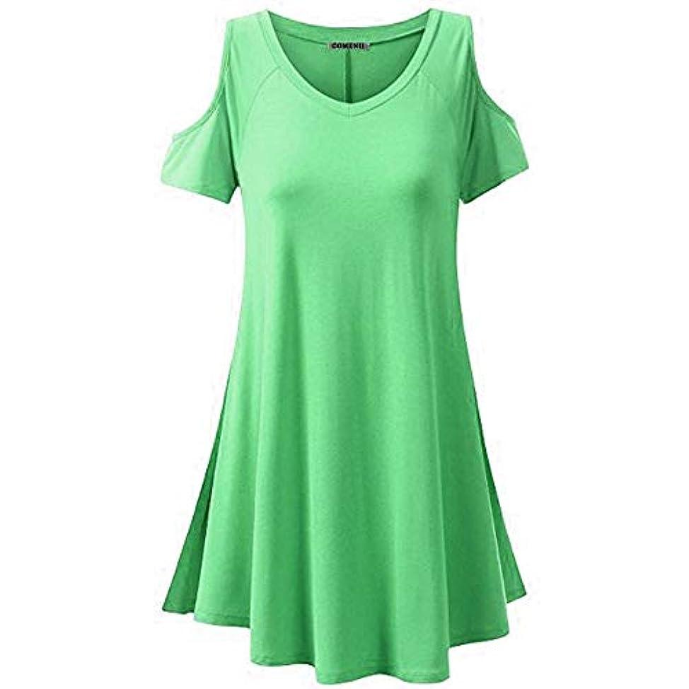 童謡そばに視力MIFANウィメンズファッション、シャツ、Tシャツ、半袖、綿、セクシープラスサイズのドレス、レディースTシャツ、Vネック