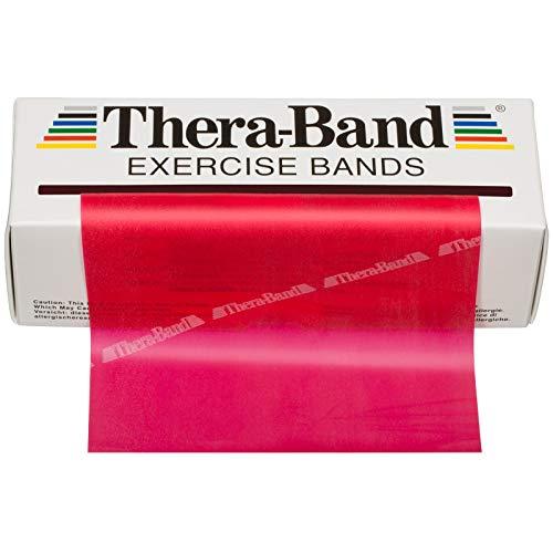 『TheraBand セラバンド 赤 レッド ミディアム (強度:0) 標準サイズ(幅約 12.5cm × 長さ 5.5 m)』の8枚目の画像