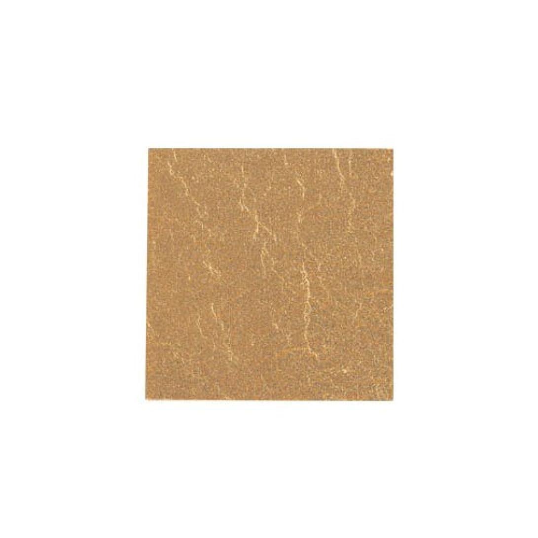誰がシャープ見出しピカエース ネイル用パウダー カラー純銀箔 #603 純金色 3.5㎜角×5枚