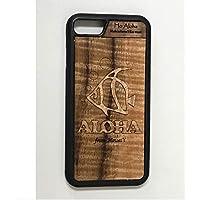 iPhone 8 / 7 カバー 【 フィッシュ 】 ハワイ スマホ ケース 【 Ho Aloha 】 ハワイアン コアウッド アイフォン ケース