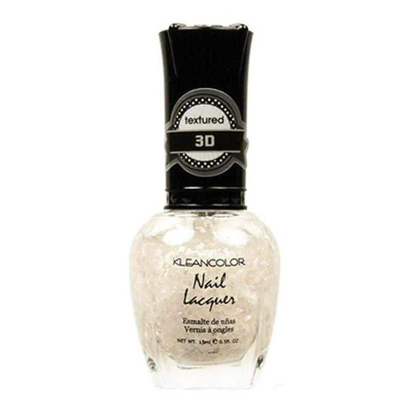 委任する抵抗ジョイント(3 Pack) KLEANCOLOR 3D Nail Lacquer - Sugar Cravings (並行輸入品)