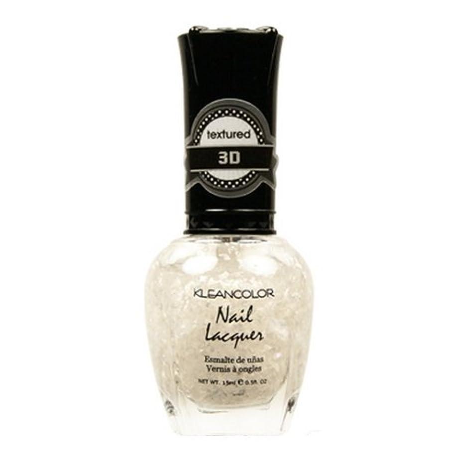 費用ラブご覧ください(3 Pack) KLEANCOLOR 3D Nail Lacquer - Sugar Cravings (並行輸入品)
