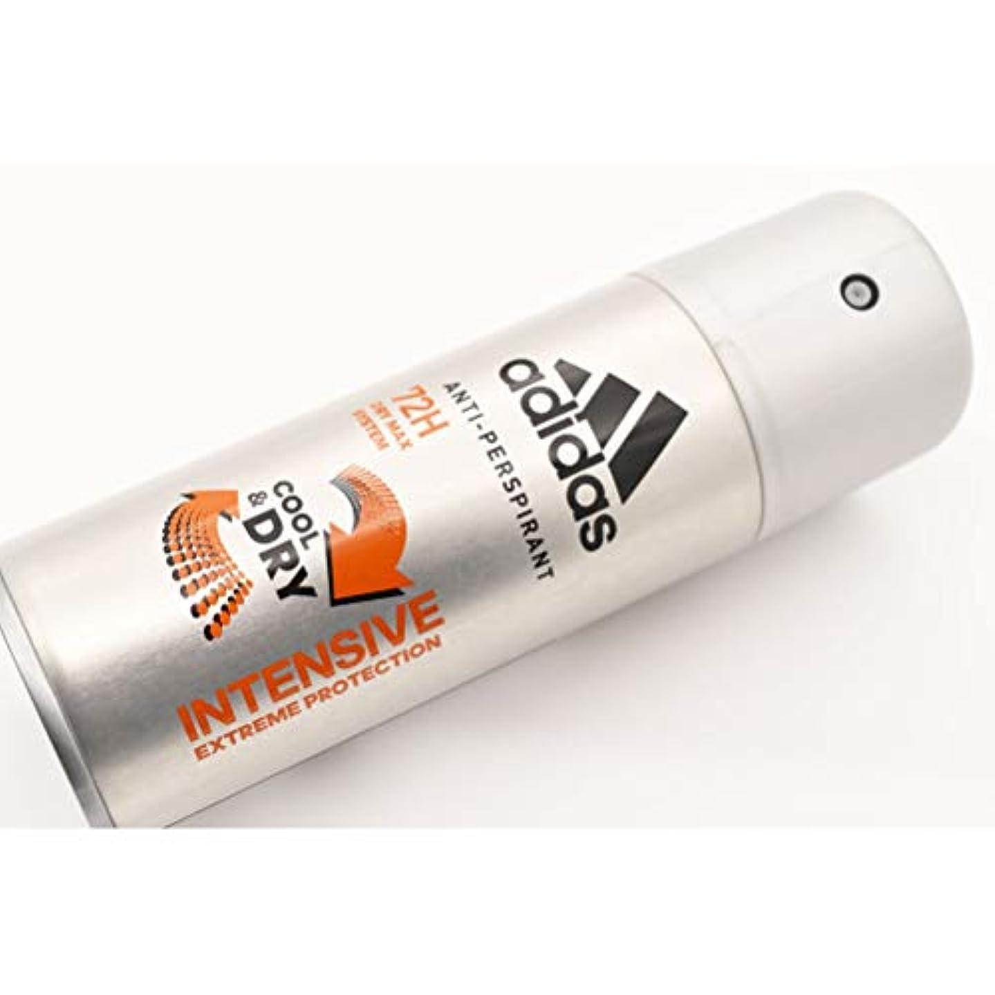 収縮の量ミトンadidas DEO BODY SPRAY 150ml COOL&DRY INTENSIVE EXTREME PROTECTION 72H アディダス デオドラント ボディースプレー 150ml クール&ドライ インテンシブエクストリーム...