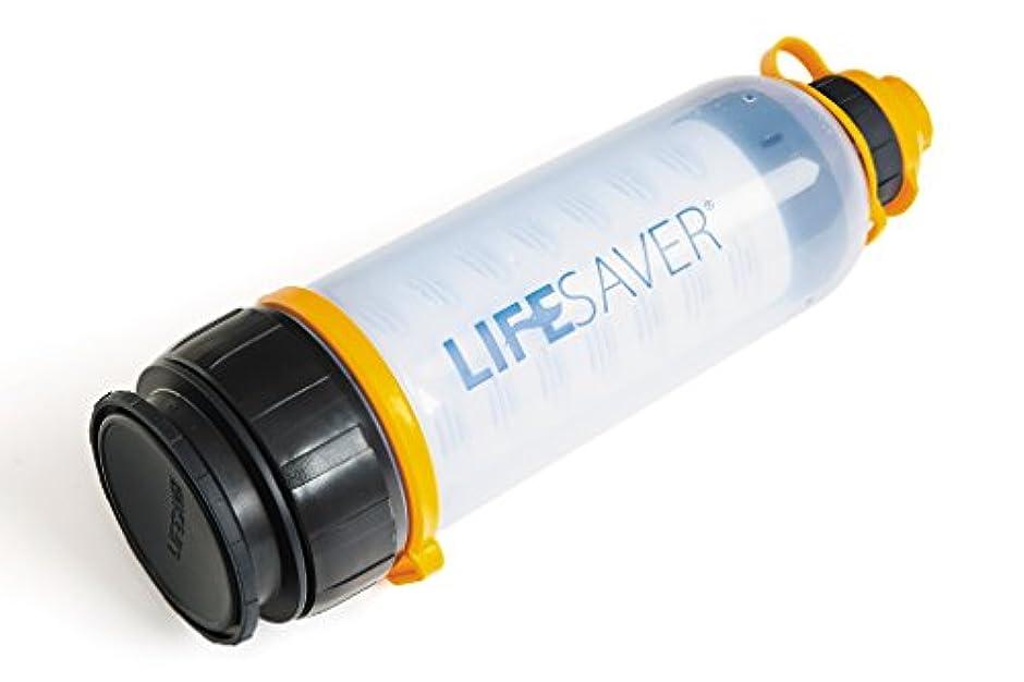 のぞき穴歩くビームLifeSaver Bottle アウトドア/緊急用 携帯浄水器 99.9999%細菌除去 4000L 1分2L 英陸軍仕様 日本語取説