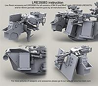 MK19-3/MK47 MK93多目的弾薬缶ホルダー&PA70 60 mm 弾薬缶,弾帯 LiveResin ライブレジン[LRE35083] MK19-3/MK47 MK93 Multi-Purpose Ammo Can Holder and PA70 60 mm ammo cans, ammo belts