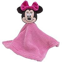 Disney Minnie Mouse Plush Security Blanket Pink [並行輸入品]