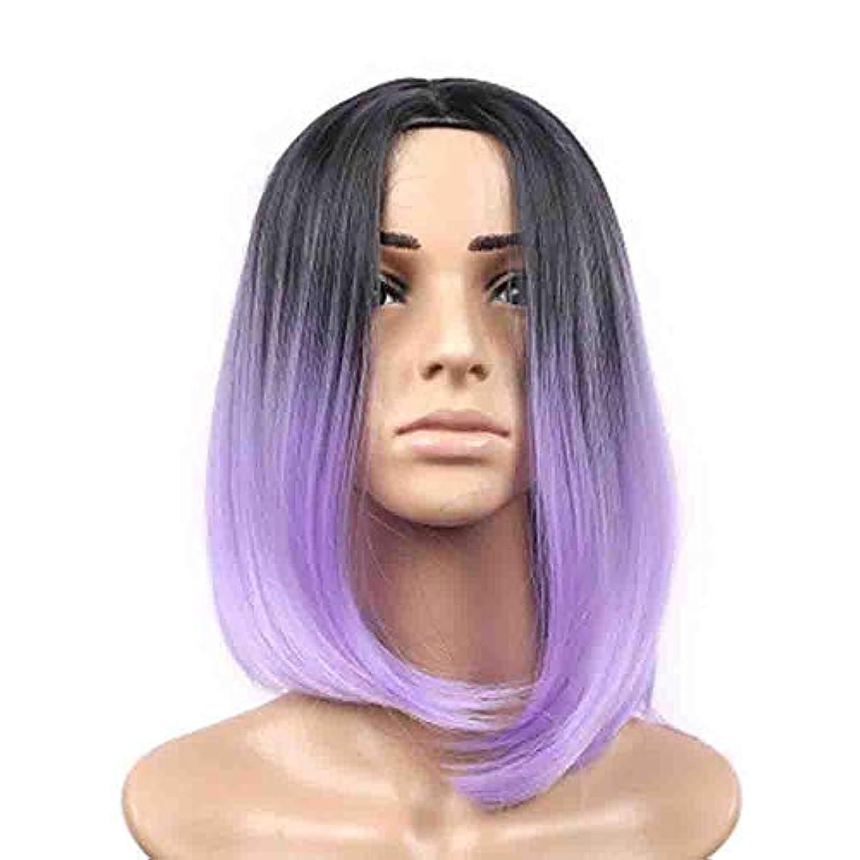 開梱アクセサリー変成器女性のための色のかつら、ロリータショートポニーテールコスプレウィッグ、高密度温度合成かつらコスプレヘアウィッグ、耐熱繊維ヘアウィッグ