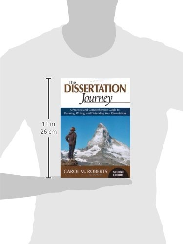 the dissertation journey Download the dissertation journey ebook conceiving and carrying out a project worthy of a dissertation can be likened to a long and arduous journey because it usually takes a number of years from the initial formulation to completion.