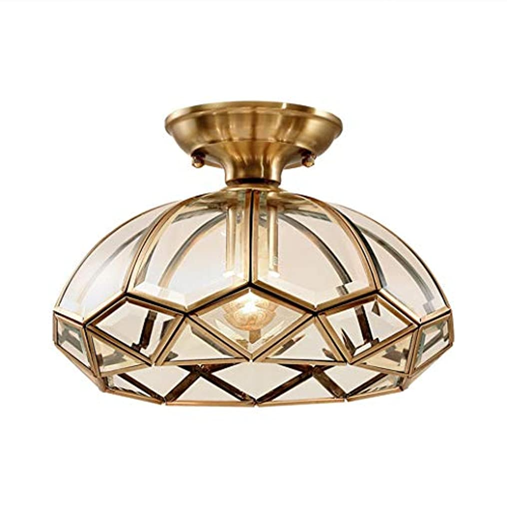 新年追放闘争シャンデリア ペンダントライト Single Head Brass Ceiling Lighting Glass Chandelier Ceiling Light Light Fixtures Ceiling Hanging For Dining Room Living Room Bed Room